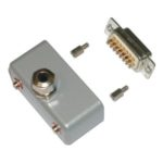 500253 Connector 90° IP65 for 15 Pin D-Sub Connector