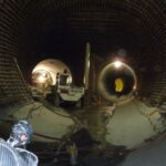 Monitoring of pressure tunnel