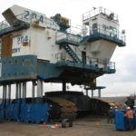 Lifting of mining equipment
