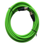 500206 Sensor cable, 2x D-Coded, 4pole, 5m, male
