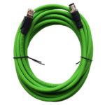 500207 Sensor cable, D-Coded-RJ45, 5m